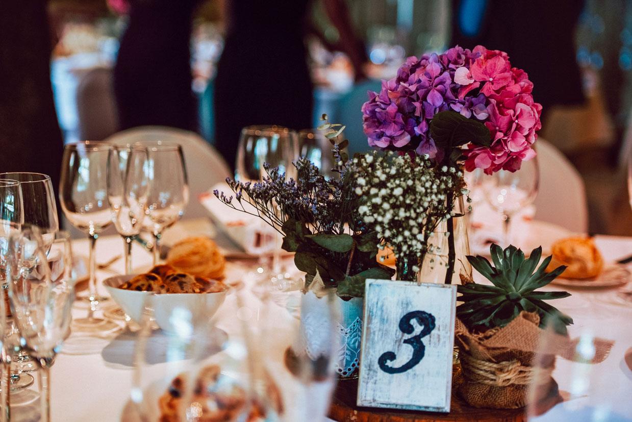 mesero de boda