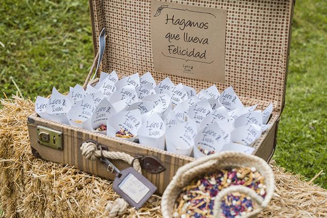 Alternativas sostenibles para sustituir el arroz en tu boda