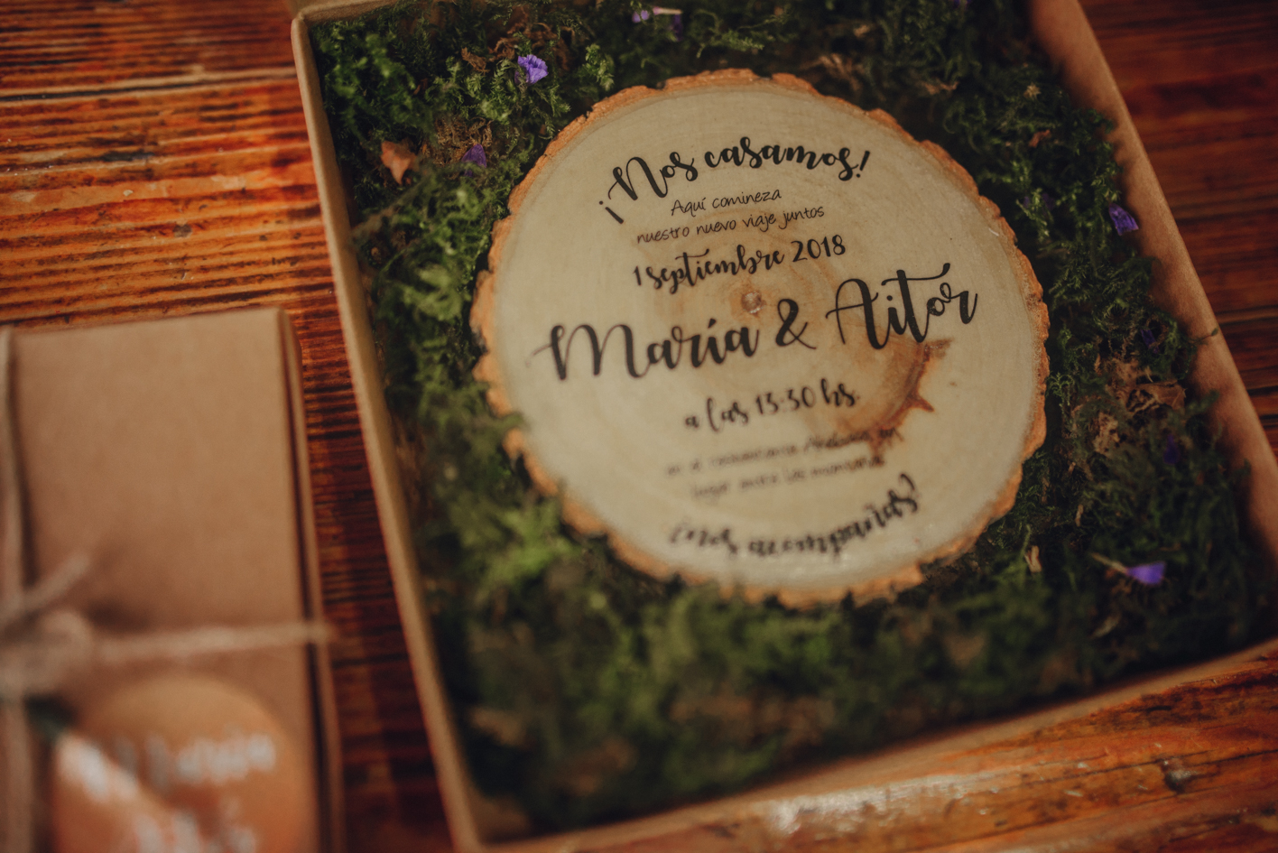 life moments design_invitación de boda original en caja