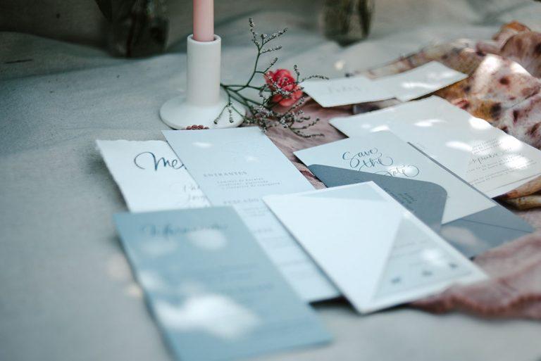 Papeles ecológicos la papelería de tu boda